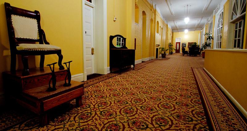 Hallway - Hotel Colorado, Glenwood Springs CO