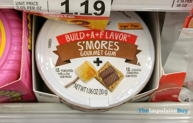 Project 7 Build-A-Flavor S'mores Gourmet Gum