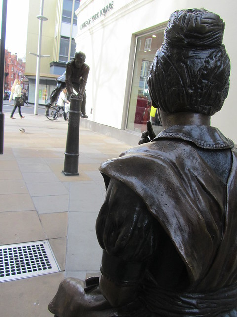 Two Pupils by Alister Bowrell, Sloane Square