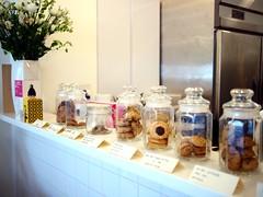 Cookie jars, Société Canteen, Cluny Court
