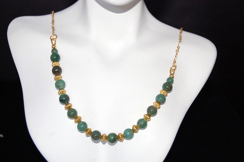 Jade Pagoda Necklace