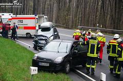 Verkehrsunfall B54 Eiserne Hand 09.04.12