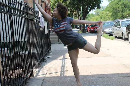 Half-Assed Dancer's Pose (Natarajasana)