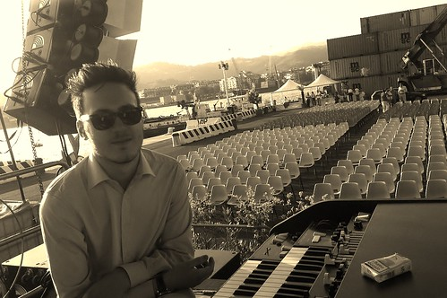 LEONARDO CORRADI  al Festival Internazionale del jazz di la Spezia by cristiana.piraino