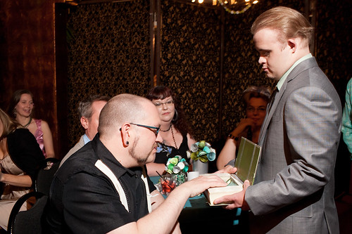 My brother was our ring bearer.