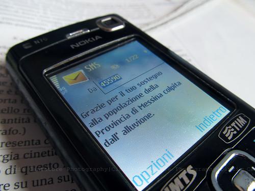 Manda un sms al 45590! by [Piccola_iena]