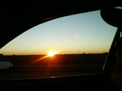 Sunrise over North Texas