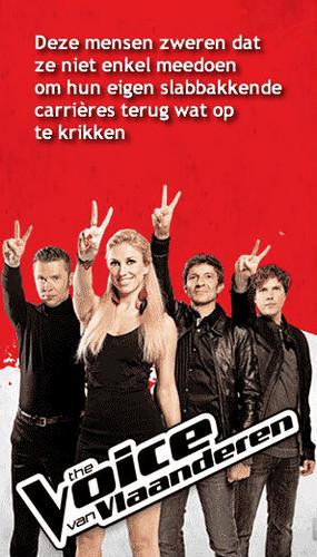 The Voice van Vlaanderen - de Stem delle Fiandre