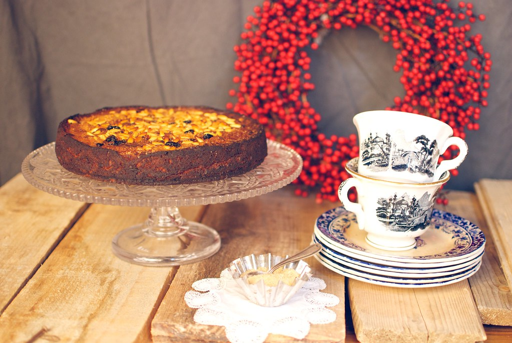 pastel de manzana especiado navidad · jamie oliver