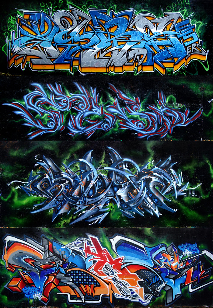Graffiti Arsenal Toulouse