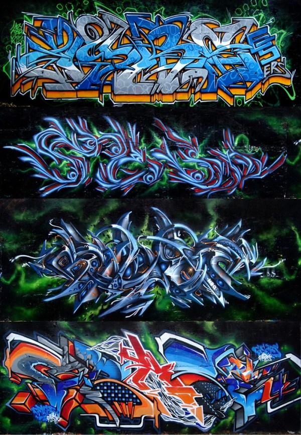 Graffiti Arsenal Toulouse