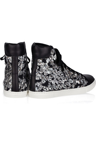 Lanvin diamond print high tops by ChelleBK