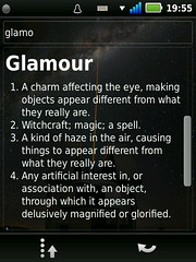 English dictionary on QtMoko