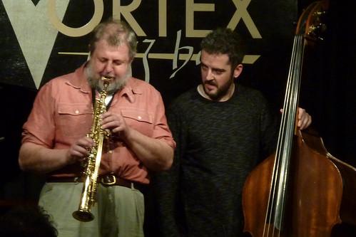Paul Dunmall, Matthew Bourne, Steven Davis, Dave Kane @ the Vortex 9.1.12
