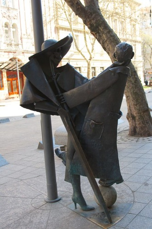 Статуя Гезы Хофи в Будапеште, Будапешт, Венгия