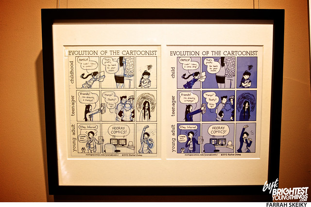 The Art of Comic Books Mansion at Strathmore Brightest Young Things Farrah Skeiky 57