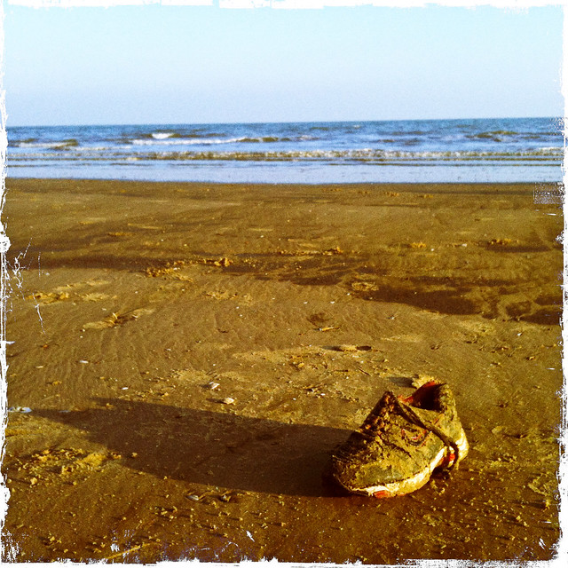 Beached Shoe!
