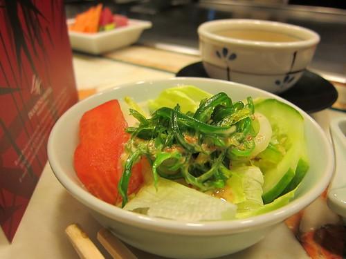 Yurakuen - salad