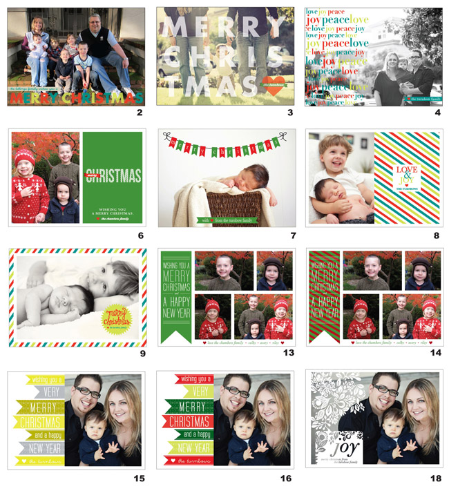 christmas cards eyeheartprettythings