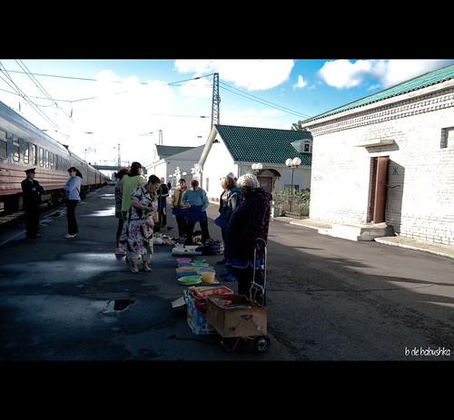 Transiberiano Babuskha vendiendo
