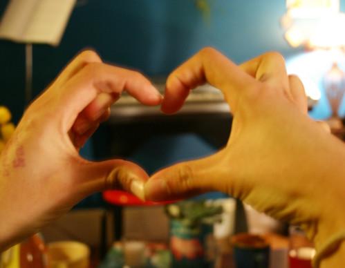 Mari's Heart hands
