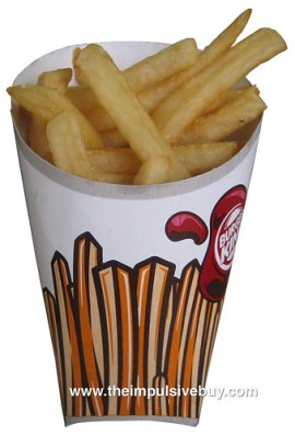 New Burger King Fries (2011)