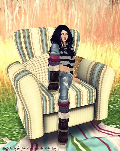 Cozy cottage armchairdone