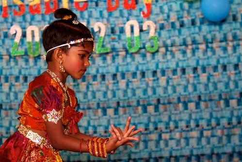 A Baradanatiam dancer at MARDAP