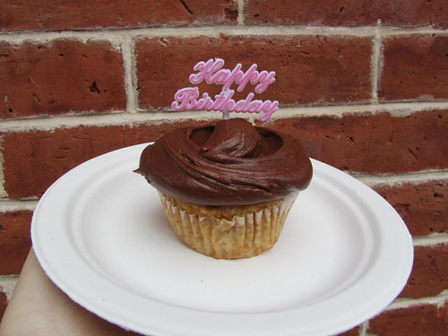 The Magnolia Bakery - birthday cupcake