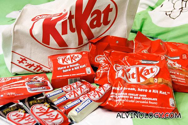 Kit Kat galore!