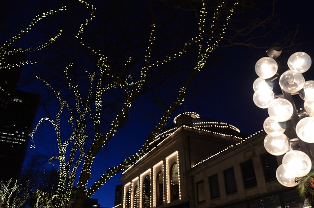 Faneuil Hall lights