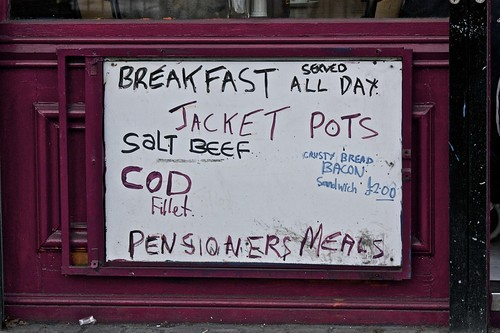 Pensioners Meals