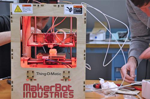 Montage de l'imprimante 3D - Fablab Télécom Bretagne