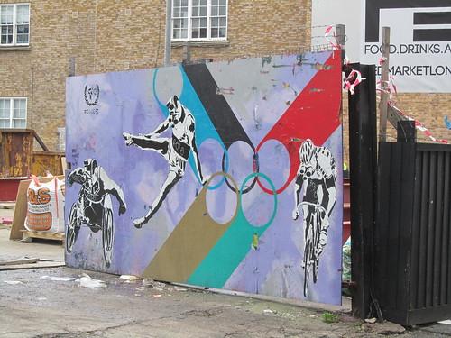 Street Art & Graffiti in Shoreditch - CODE F.C.