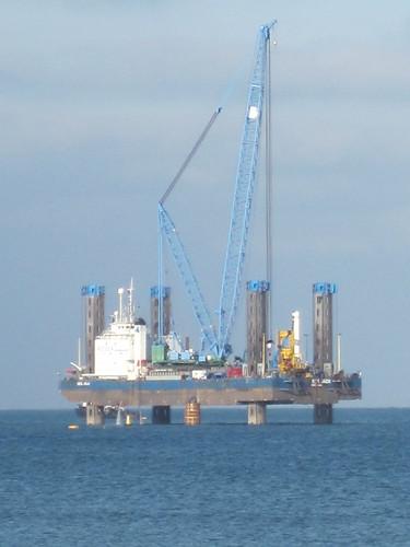 Windfarm Drilling Rig, Redcar