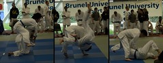Ken from Solent throwing with seoi-nage