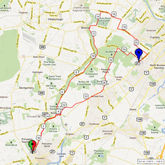 05. Bike Route Map. Princeton NJ