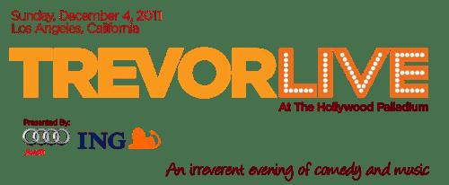 Trevor Project Trevor Live event logo
