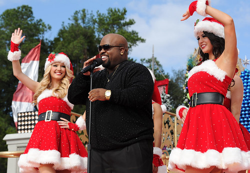 Cee Lo Green tapes Christmas TV Show at Walt Disney World