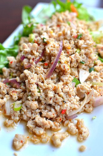 Minced Chicken Salad