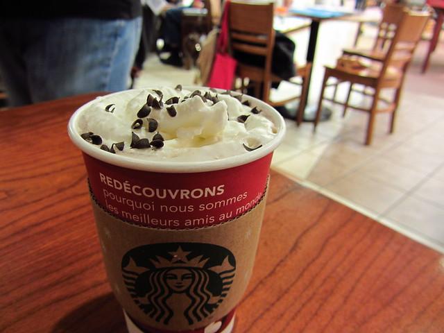Starbucks - Peppermint Hot Chocolate