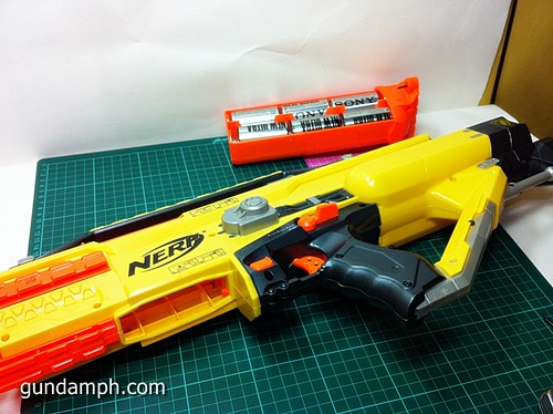 NERF Stampede Basic Modification Attempt (3)