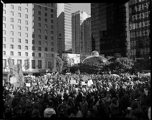occupy vancouver - neal lantela