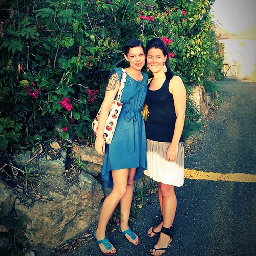 Purdy ladies, beautiful #wife...#friends #vacation #blue #dress
