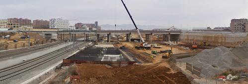 Panorámica nuevo puente - 27-01-12