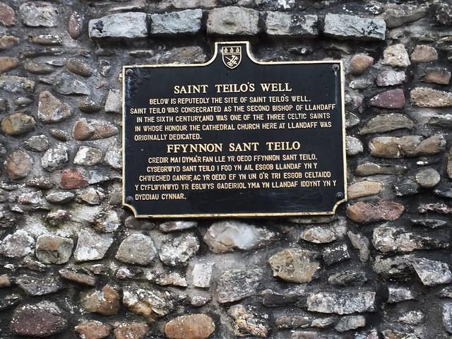 St Teilos Well at Llandaf Cathedral 2011