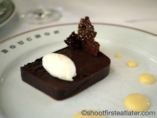 Bouchon in Yountville- Marquis Au Chocolat $10