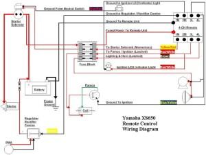 Yamaha XS650 Remote Control Wiring Diagram TampaSVT