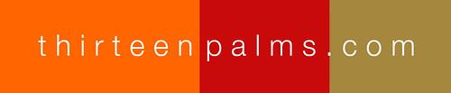 logo thirteen palms