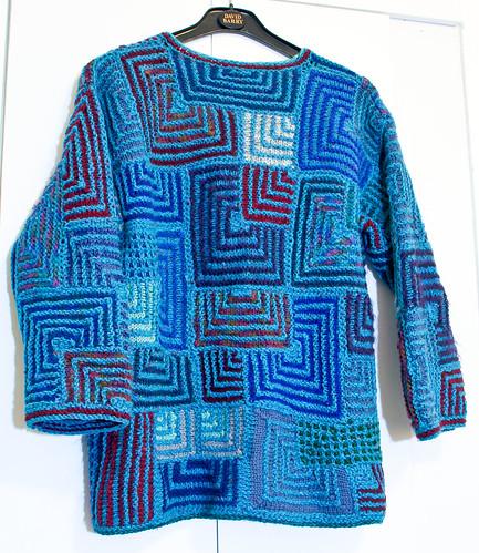 Modular sweater